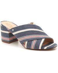 d57cbaba24ec Lyst - Sam Edelman Stanley Pinata Sequin Slide Sandal in Blue