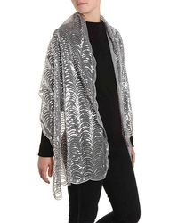 Betsey Johnson   Sequin Scallop Wrap   Lyst