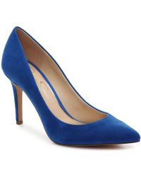 fe3af703478 Lyst - Jessica Simpson Levin Pump in Pink