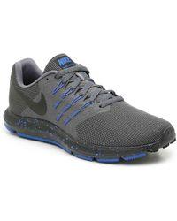 8868ce2e29395 Lyst - Nike Run Swift 4e Running Shoe in Gray for Men