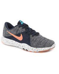 94f5c3424417a Lyst - Nike Flex Trainer 7 Lightweight Training Shoe in Black