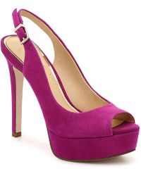 Jessica Simpson Bisano Platform Pump - Purple