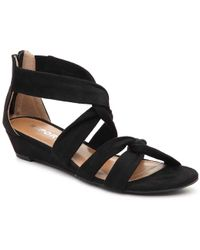 Report - Jenny Wedge Sandal - Lyst