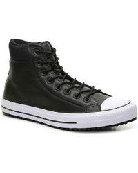 c37790c4d6c5 Lyst - Converse Chuck Taylor All Star Hi High-top Sneaker in Gray ...