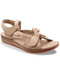 b46f3d497 Lyst - Clarks Women s Sandcastle Ray Strappy Sandal in Brown