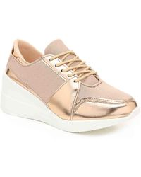 Wanted - Emery Wedge Sneaker - Lyst