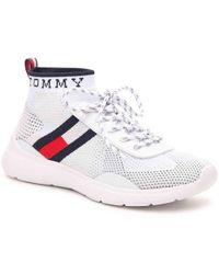 e5e07fc2bf660 Tommy Hilfiger - Cabello Mid-top Sneaker - Lyst