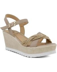 Spring Step - Uribia Wedge Sandal - Lyst