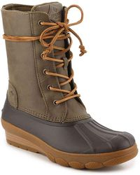 Sperry Top-Sider - Saltwater Reeve Wedge Duck Boot - Lyst