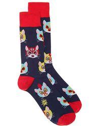 Sock It To Me - Gato Libre Crew Socks - Lyst