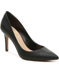 c0228353760c Lyst - Jessica Simpson Levin Women Pointed Toe Synthetic Black Heels ...
