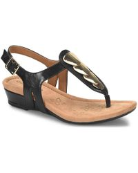Comfortiva - Summit Wedge Sandal - Lyst