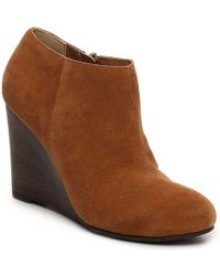 Restricted - Wave Wedge Bootie - Lyst