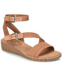 Comfortiva - Corvina Wedge Sandal - Lyst