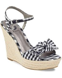 G by Guess | Dalina Wedge Sandal | Lyst