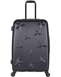 Aimee Kestenberg - Star Molded 24-inch Checked Hard Shell Luggage - Lyst