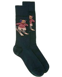 Polo Ralph Lauren - Ski Bear Crew Socks - Lyst