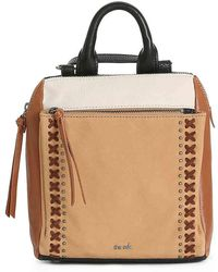 2de526fa9 The Sak Mariposa Convertible Leather Backpack in Black - Lyst