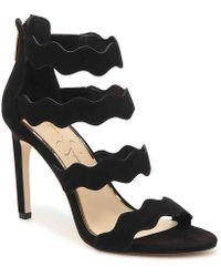 6e53dd3e1c Lyst - Jessica Simpson Razella Platform Sandal in Black