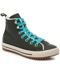 4867bef2e61806 Lyst - Converse Chuck Taylor All Star Combat Boot High-Top Sneakers ...