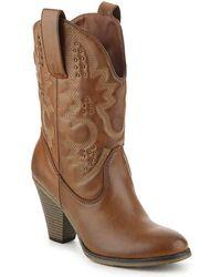 MIA - Tarrah Cowboy Boot - Lyst