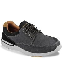 Skechers - Relaxed Fit Elent Mosen Oxford - Lyst