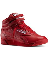 Reebok - Freestyle Hi High-top Sneaker - Lyst
