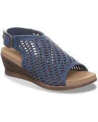 BEARPAW - Roxie Wedge Sandal - Lyst