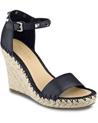 Marc Fisher - Kicker Wedge Sandal - Lyst