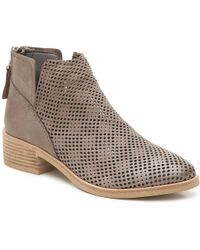 Dolce Vita - Tommi Back-zip Leather Bootie - Lyst