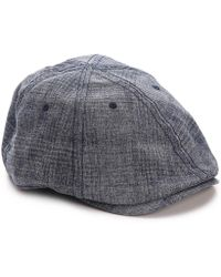 Original Penguin - Textured Newsboy Cap - Lyst