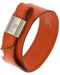 Hermès - Leather Wrap Bracelet - Lyst