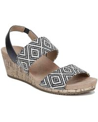 ac5e5c718e83 Lyst - LifeStride Tango Espadrille Wedge Sandal in Natural