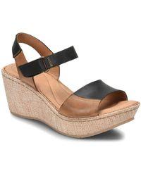 Born Siene Slide Wedge Sandals t6WdUh