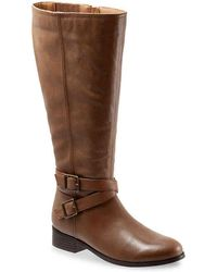 Trotters - Liberty Wide Calf Riding Boot - Lyst