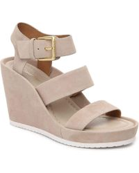 CALVIN KLEIN 205W39NYC - Hailey Wedge Sandal - Lyst