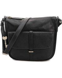 Fossil - Ryder Leather Crossbody Bag - Lyst