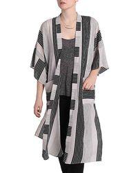 BCBGeneration - Variegated Stripe Kimono - Lyst