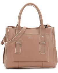 Perlina - Cali Leather Satchel - Lyst