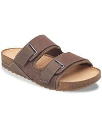 a1fb3d684edd Lyst - Easy Spirit Peace Slide Sandals
