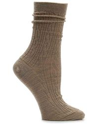 Smartwool - Cable Crew Socks - Lyst