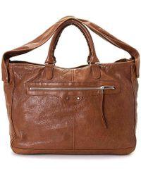 Balenciaga - Giant 12 Two Leather Satchel - Lyst