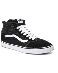 Lyst - Vans Ward Hi High-top Sneaker in Black for Men 99f0f14bf