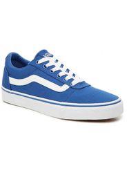 39e3c4afa3d6 Lyst - Vans Ward Lo Sneaker in Purple