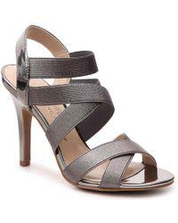 Ann Marino By Bettye Muller - Daphne Metallic Sandal - Lyst