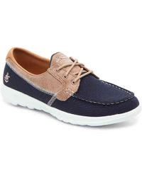 Skechers - Gowalk Lite - Coral Walking Sneakers From Finish Line - Lyst