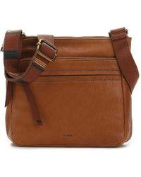 Fossil - Corey Leather Crossbody Bag - Lyst