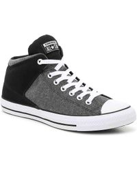 b821de88bcbdc2 Lyst - Converse Chuck Taylor® All Star® Side Zip Heavyweight Canvas ...