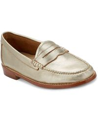 G.H. Bass & Co. - Whitney Weejuns Leather Penny Loafer - Lyst