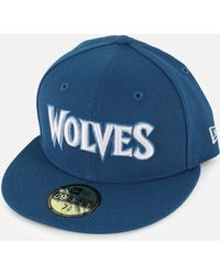 info for 775f6 e8f08 KTZ - Nba 5950 Minnesota Timberwolves Fitted Hat - Lyst